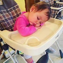 Zoe sleeping